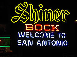 Shiner Neon Light I Like Shiner Bock So I Found This Sign Very Welcoming In