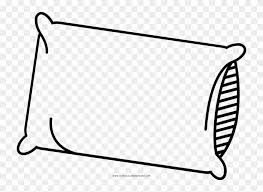 Pillow Coloring Page Pillow Coloring Page Ultra Coloring Clip Art