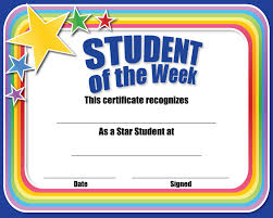Student Of The Month Certificates Certificate For Student Of The Month Ctsm015 School Photo Marketing