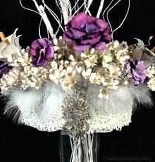 Paper Flower Centerpieces At Wedding Paper Flower Centerpiece Paper Flowers Wedding Centerpiece