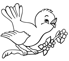 Coloring Pages Coloring Pages Bird For Kids Cardinal Free Sea