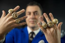 Los angeles (lac) traded maurice harkless, 2020 1st round pick, 2021. Lakers Championship Rings Have Hidden Surprises Beneath Bling Los Angeles Times