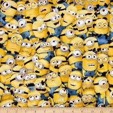 Universal Despicable Me 1 in A Minion Packed Minions Yellow ... & Universal Despicable Me 1 in A Minion Packed Minions Yellow - Discount  Designer Fabric - Fabric.com Adamdwight.com