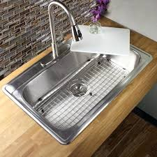 drop in stainless steel kitchen sink inch gauge stainless steel drop in single bowl kitchen sink