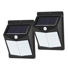 50 Led Zonne Energie Pir Bewegingssensor Muurbeveiligingslamp Tuin Buitenlamp