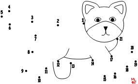 dot to dot number. Brilliant Dot Number Dot To Pages For A Pet Theme Inside To