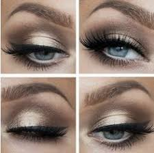 if you have blue eyes this is the eye makeup for you