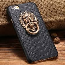 phone cover black iphone 6 case lion leather phone cover iphone 6 case cover