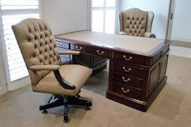 professional office desk. solid mahogany professional office partners desk