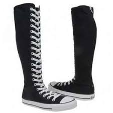 converse boots. image search results for knee high converse boots 8