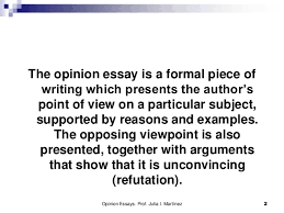 the opinion essay opinion essays