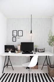 black and white home office. black and white simple home office space l