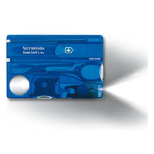 <b>Швейцарская карта Victorinox</b> 0.7322.T2 <b>SwissCard</b> Lite, синий ...