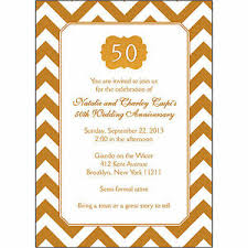 50th Anniversary Party Invitations Details About 25 Personalized 50th Wedding Anniversary Party Invitations Ap 015 Gold