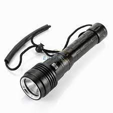 Yeni Model Süper Parlak Su Geçirmez 100 M Xhp50 Led Dalış Torch El Feneri  20000 Lümen