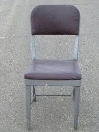 vintage metal office chair. Metal Office Chair Vintage Desk M Casters . E