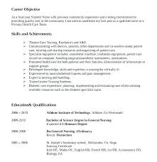 Resume Templates Nursing