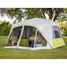 Multiple Room Tents Core 10 Person Instant Cabin Tent With Screen Room