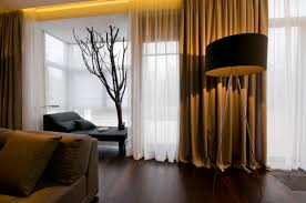Living Room Curtains Contemporary Living Room Curtains For Drapes On Home And Interior