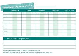 Blood Glucose Log Sheet Printable Free Blood Sugar Log Templates Printable Documents