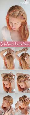 How Todo Hair Style hairstyle tutorial how to do sideswept dutch braid hairstyles 1166 by wearticles.com