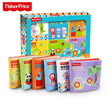 fisher baby cloth book infant child educational toy early childhood cognitive tear not bad
