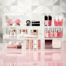 Luxe Acrylic Large Nail Polish & Makeup Storage ...