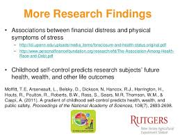 health and wealth research summary