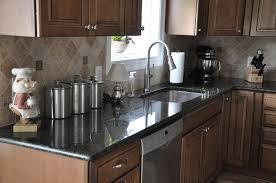 Kitchen : Absolute Black Granite Countertop For Kitchen Beautiful ...