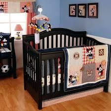 kidsline crib bedding vintage mickey 4 piece baby crib bedding set by kidsline crib bedding