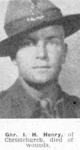 Ivan Harold Henry - Online Cenotaph - Auckland War Memorial Museum
