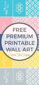 premium free printable wall art