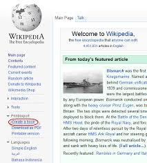 Wikipedia Create How To Create And Download Ebooks From Wikipedia