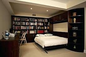 office with murphy bed. Office With Murphy Bed Units In Chocolate Pear Queen Side Tilt Home Decor .