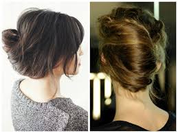 French Twist Hair Style 5 messy updo hairstyle ideas for medium length or long hair 1314 by stevesalt.us