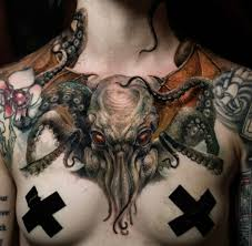 Cthulhu Tattoo Chest Piece Album On Imgur