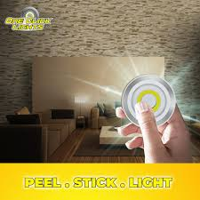 One Click Lights Now You Do Not Need An Electrician To Install Lights In Your