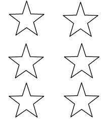 Template For A Star Template For Stars Rome Fontanacountryinn Com