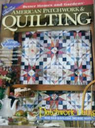 American Patchwork & Quilting magazine August 1997 | Patchwork ... & American Patchwork & Quilting magazine August 1997 Adamdwight.com