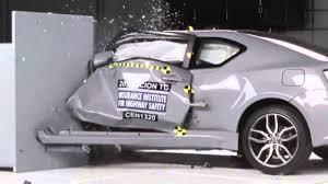 2018 toyota zelas. interesting zelas 20112016 scion tctoyota zelas iihs narrowoverlap crash test  youtube with 2018 toyota zelas