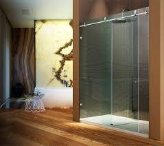 bathroom sliding glass shower doors. Frameless Sliding Glass Shower Doors Luxury Enclosures Designer Door Gasket Bathroom