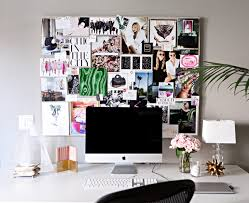 office pinboard. Chic Home Office Pinboard
