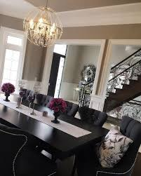 dark dining room modern ideas black