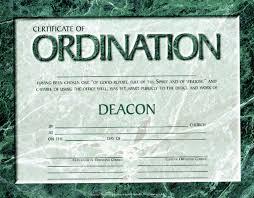 Ordination Certificate Template Free Deacon Ordination Certificate Template Lissette