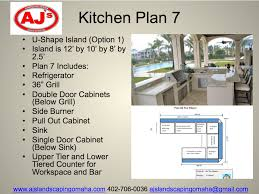 each outdoor kitchen from the patio countertops facade and appliances is designed to coordinate with colors textures and style of the surrounding