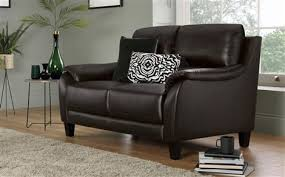 leather sofa chair. Marlow Brown Leather Sofa - 2 Seater Chair 7
