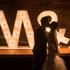 lighting letters. giant marquee light up letters lighting