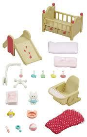 <b>Игровой набор</b> Sylvanian Families Мебель для <b>детской</b> комнаты ...