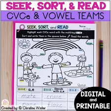 Ow and ou words worksheet. Long Vowel Phonics Printable Digital Preloaded Seesaw Google Classroom Mrs Winter S Bliss