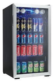 nice bud light mini fridge m1962232 mini fridge can stainless steel glass door freezer brand new